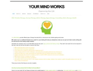 yourmindworks.webs.com screenshot