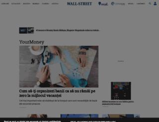 yourmoney.wall-street.ro screenshot