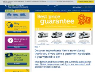 yourmotorhome.com screenshot