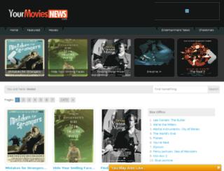 yourmoviesnews.com screenshot