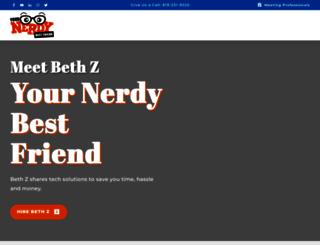 yournerdybestfriend.com screenshot