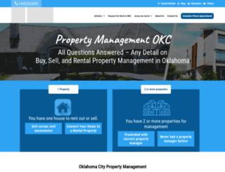 yourokcpropertymanager.com screenshot