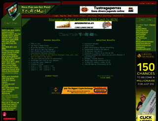 youromail.com screenshot