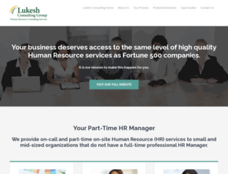 yourparttimehrmanager.com screenshot