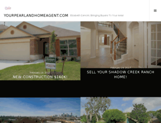 yourpearlandhomeagent.com screenshot