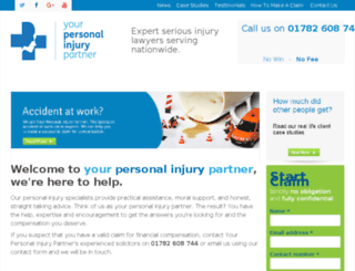 yourpersonalinjurypartner.co.uk screenshot