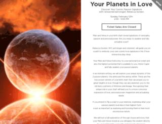 yourplanetsinlove.splashthat.com screenshot