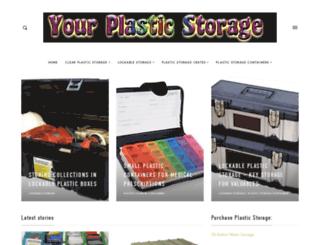 yourplasticstorage.com screenshot