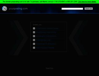 yourposting.com screenshot