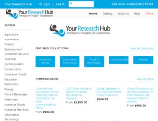 yourresearchhub.com screenshot