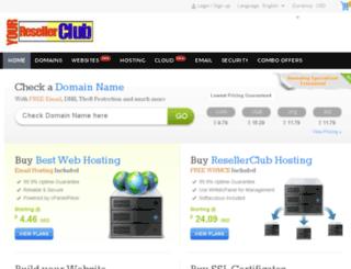 yourresellerclub.com screenshot