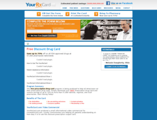 yourrxcard.com screenshot