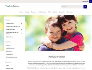 yoursafechild.com screenshot
