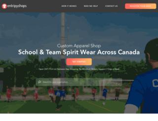 yourschoolgear.ca screenshot