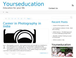 yourseducation.com screenshot