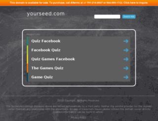 yourseed.com screenshot