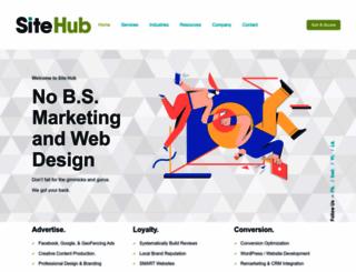 yoursitehub.com screenshot