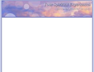 yourspiritualexperiences.com screenshot