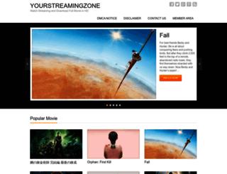 yourstreamingzone.net screenshot