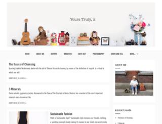 yourstrulyxblog.com screenshot