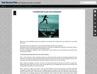 yoursuccessplan.blogspot.se screenshot