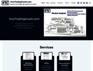 yourtradingcoach.com screenshot