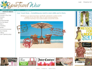 yourtravelwear.com screenshot