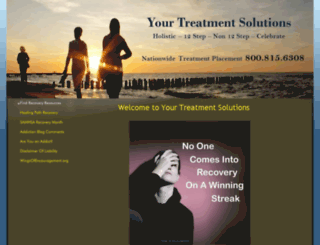 yourtreatmentsolutions.com screenshot