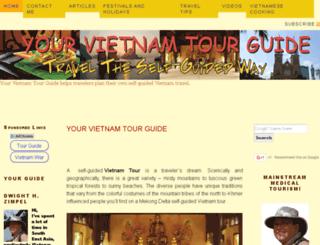 yourvietnamtourguide.com screenshot
