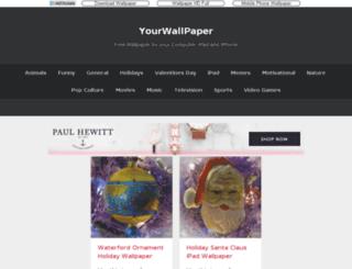yourwallpaper.com screenshot