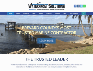 yourwaterfrontsolutions.com screenshot