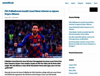 yourwbb.de screenshot