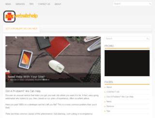 yourwebsitehelp.com screenshot