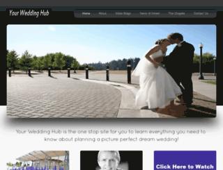 yourweddinghub.com screenshot