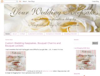 yourweddingkeepsakes.blogspot.com screenshot