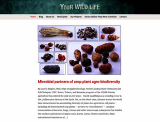 yourwildlife.org screenshot