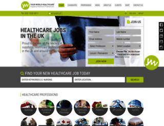 yourworldhealthcare.com screenshot
