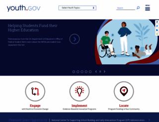 youth.gov screenshot
