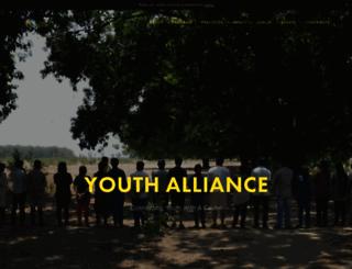 youthallianceofindia.org screenshot