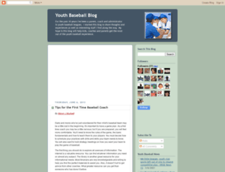 youthbaseballblog.blogspot.com screenshot