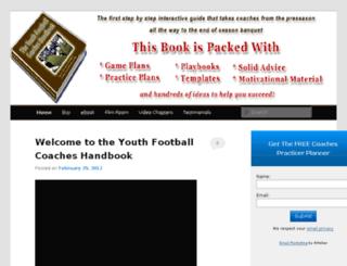youthfootballhandbook.com screenshot