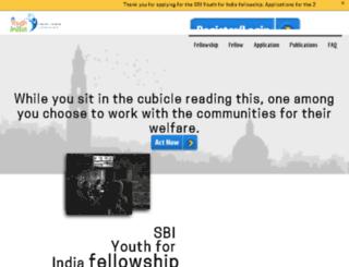 youthforindia.com screenshot