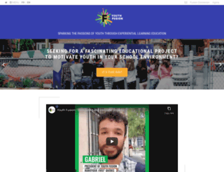 youthfusionquebec.org screenshot