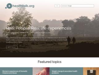 youthhealthtalk.org screenshot