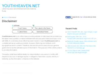 youthheaven.net screenshot