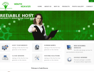 youthheaven.org screenshot