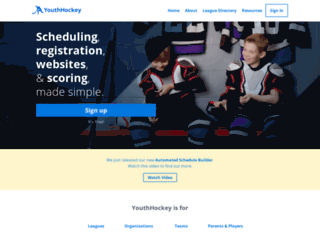 youthhockey.com screenshot