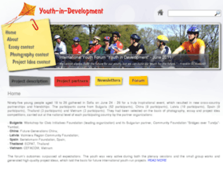 youthindevelopment.org screenshot