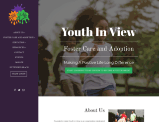 youthinview.org screenshot