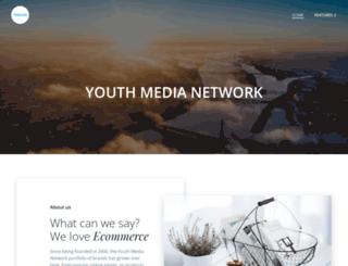 youthmedianetwork.com screenshot